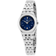 Swatch Irony Sloane Blue Dial Stainless Steel Ladies Watch YSS288G