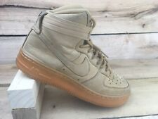 0e6b44f9 Nike Youth Big Kid Brown Tan Air Force 1 High LV8 Flax Wheat 807617-200