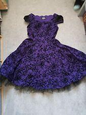 Hearts Of Roses Purple Dress 12