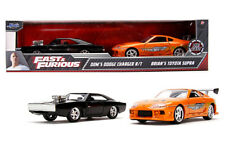 JADA 1/32 SCALE DODGE CHARGER R/T & TOYOTA SUPRA FAST & FURIOUS 2 PACK 31981