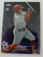 2018 Topps Chrome #35 Tyler O'Neill Cardinals Purple Refractor RC Card 201/299
