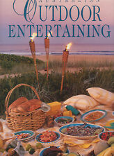 AUSTRALIAN OUTDOOR ENTERTAINING Lynn Humpries **LARGE BOOK/GOOD COPY**