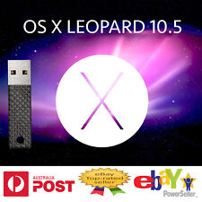 Leopard 10.5 Mac OSX OS X USB re Install installation macbook replaces DVD