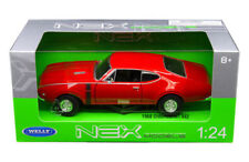 WELLY 1:24 W/B 1968 OLDSMOBILE 442 Diecast Car Model 24024W-RD