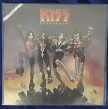 Kiss Rare Destroyer italian Durium 1976 original still sealed Lp 33 12