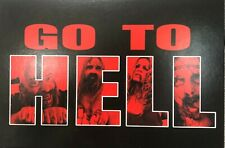 """THE DEVIL'S REJECTS Soundtrack Promo Card """"Go To Hell"""" 2005 Rob Zombie Haig 3x5"""""""