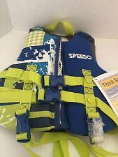SPEEDO SKI VEST / WAKE BOARDING VEST FLOTATION AID - CHILD 30-50 lbs