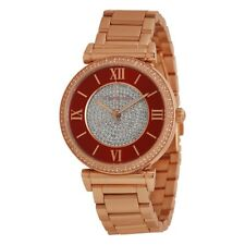 Michael Kors MK3377 Caitlin Rose Gold-Tone Ladies Watch