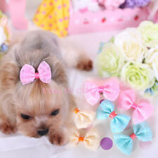 20PCS Pet Dog Hair Clips Bow Tie Dog Grooming Accessories Cute Bowknot For Dogs