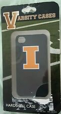 ILLINOIS FIGHTING ILLINI iPhone 4 or 4s Varsity Hardshell Cases