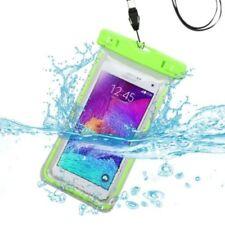 Fundas y carcasas Universal color principal verde para teléfonos móviles y PDAs