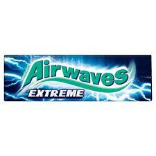 Wrigley's Airwaves Extreme Sugarfree Chewing Gum 10 Pieces 14g
