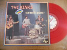 "LP FRANCE VINYL ROUGE THE KINKS  "" YOU REALLY GOT ME ""  NM"