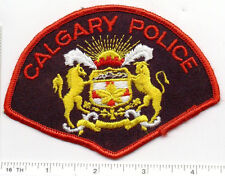 Calgary Police (Canada) Shoulder Patch from 1980