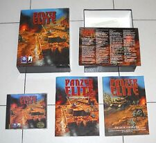 Gioco Pc Cd PANZER ELITE Big BOX ITA 1999 WWII Wargames Seconda Guerra mondiale