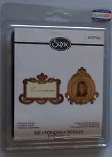 Sizzix embosslits XL frames ornate die