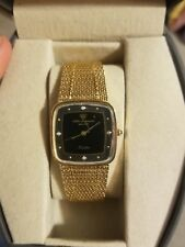 Jules Jurgensen Mens Gold Plated Watch