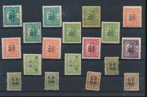 LN18410 Slovakia 1920 Poland SO overprint fine lot used