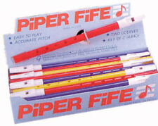 "24 x TROPHY - 2 Colour Piper Fife, 11½"" long, Key of C, Educational, School"