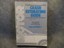 Motor Crash Estimating Guide General Motors April 1995 Vol. 27 No. 5 Manual R369