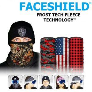 Face Mask Breathable Protection Bandana Balaclava Thermal Fleece Tube Faceshield