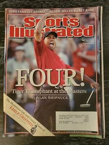 SI: Sports Illustrated April 18, 2005 Tiger Woods, Masters
