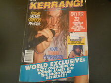 Black Sabbath, Soundgarden, Ugly Kid Joe- Kerrang!  Magazine 1992