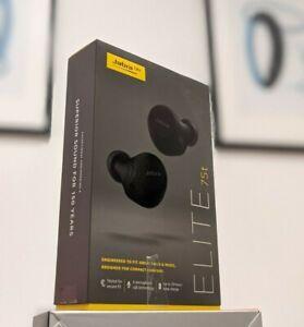 Jabra Elite 75t Earbuds – Active Noise Cancelling Bluetooth Headphones - Black