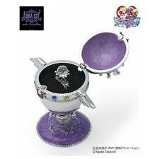 Sailor Moon x Anna Sui Rainbow Moon Jewelry Box & Ring ISETAN From Japan New #1