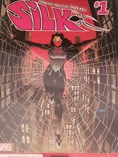 Silk 1 Marvel Comics CGC 9.8 White Pages