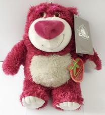 25cm Toy Story Strawberry Bear Lotso Disney Plush Teddy Toys Doll Kids Xmas Gift