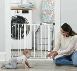 Regalo Easy Step® 38.5-Inch Extra Wide Walk Thru Baby Pet Gate Pressure Mount