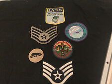 B.A.S.S. FISHING BOY SCOUTS MILITARY MYRTLE BEACH PATCHES LOT