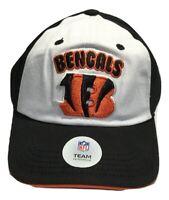 NCAA Cincinnati Bengals Ball Cap, Toddler Kids, Adjustable, White Black
