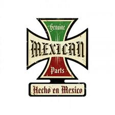 Mexican Genuine Parts Made Metal Sign Man Cave Garage Shop Club Wall Decor ic011