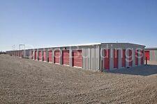 DURO Steel Mini Self Storage Structures 45x180x8.5 Metal Prefab Buildings DiRECT