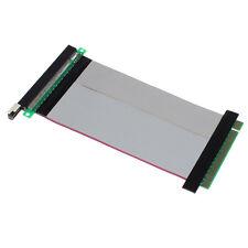 PCI-Express PCI-E 16X Riser Card Flexible Ribbon Extender Extension Cable Perfec