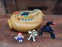 Mighty Max Doom Zone Temple of Venom / Palace of Poison Cobra Snake - Complete