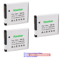 Kastar Replacement Battery for Canon NB-8L CB-2LA & Canon PowerShot A3300 IS