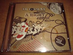 DJ FORMAT presents A Right Earful :  Mixtape Volume 1