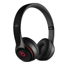 2017 BEATS BY DRE Solo 2  BLUETOOTH WIRELESS HEADPHONES GLOSSY BLACK Brand New