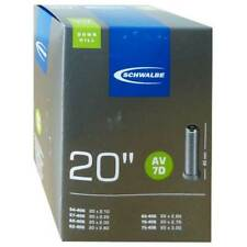 Schwalbe AV 7D Chambre à air vélo 20″ 20x2.10-3.00″ 54/75-406 av40mm, Descente