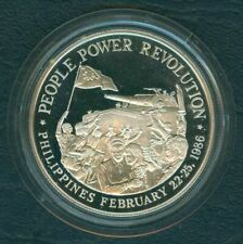1988 People Power Revolution 500 Pesos Philippine Commemorative Silver Coin