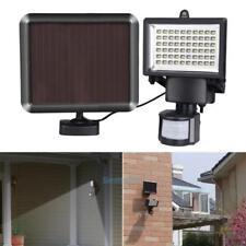 60 LED Solar Powered Garden Outdoor PIR Motion Sensor Light Security Flood Lamp