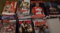 Wigan Rugby League Home Programmes 2000 - 2015 Choose individual items