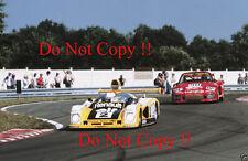PIRONI & jassaud RENAULT ALPINE A442B Vincitori Le Mans 1978 fotografia 1