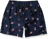 Quiksilver Mens Swimwear Blue Size XL Hot Dog Volley 17 Board Shorts $45 #359