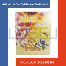 PZ 100 MIELE MONODOSE 100 %ITALIANO MILLEFIORI DOLCIFICANTE IN BUSTINA DA GR. 5