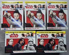 5x Star Wars Journey to The Last Jedi Blaster Box (Topps 2017)