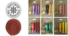 More details for sent from north pole wax stamp seal beginners starter kit or buy coin design 401